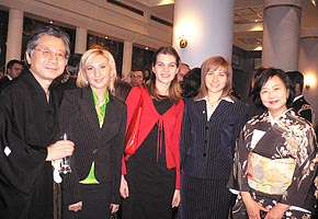 Reception by Japanese Embassy, Kiev, 2006-12 (C) Anastasia Berezhnaya