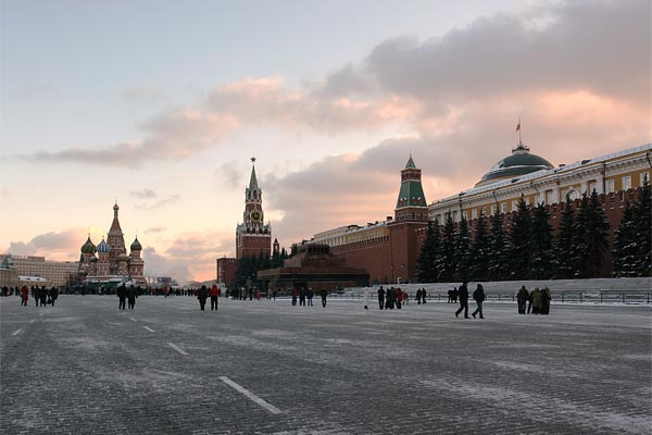 Red Square and Kremlin, Moscow, 2004-11 (C) Seiji Yoshimoto