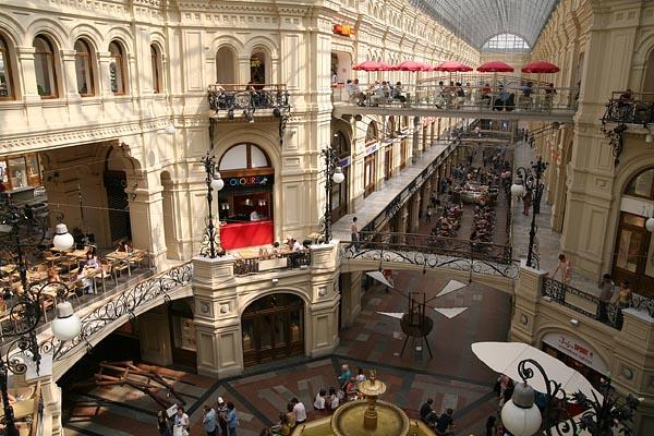 GUM Department Store, Moscow, 2006-07 (C) Seiji Yoshimoto