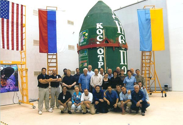 Genesis 1 Launch Team, Courtesy of Bigelow Aerospace